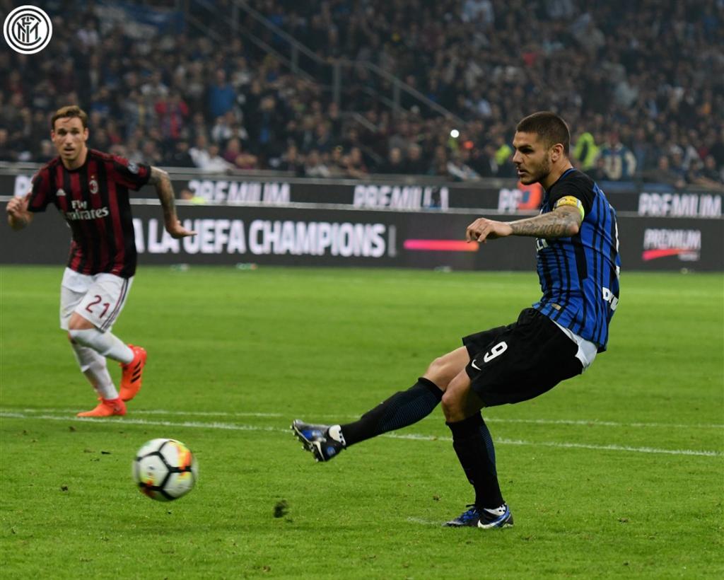 «Наполи» сыграл вничью с«Интером» вматче чемпионата Италии пофутболу