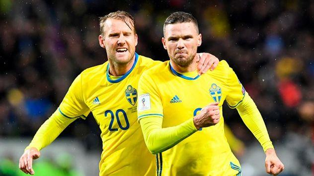Швеция обыграла Италию впервом стыковом матче завыход наЧМ