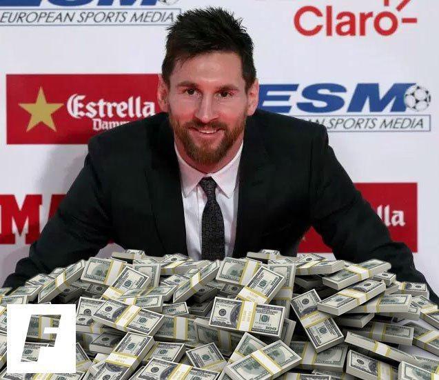 «Барселона» до 2021 года выплатит Месси более 400 миллионов евро