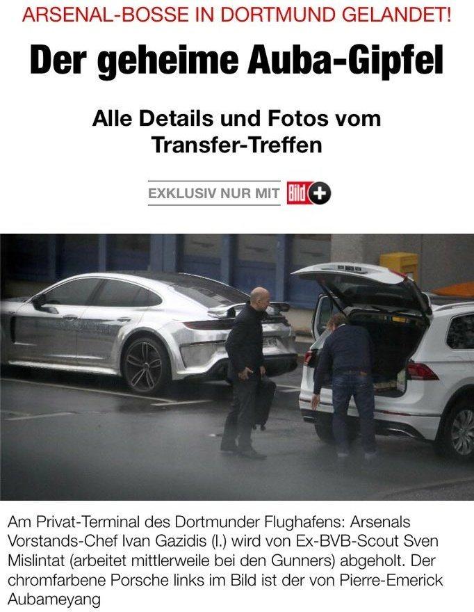 Kicker: «Арсенал» затягивает переговоры поОбамеянгу, и«Боруссия» может заблокировать сделку