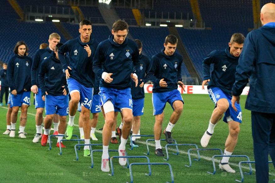 «Динамо» сыграет вРиме против «Лацио»— Лига Европы