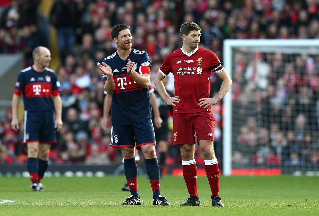 Бавария: Хаби Алонсо прокомментировал матч легенд Ливерпуль
