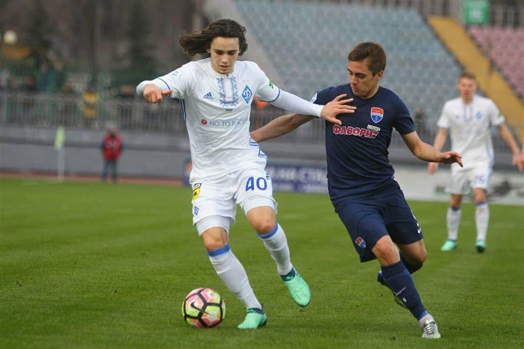 Девятнадцатилетний хавбек «Динамо» назван лучшим футболистом тура УПЛ