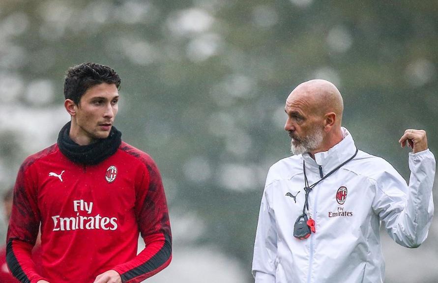 Кальдара вернулся к тренировкам Милана спустя полгода