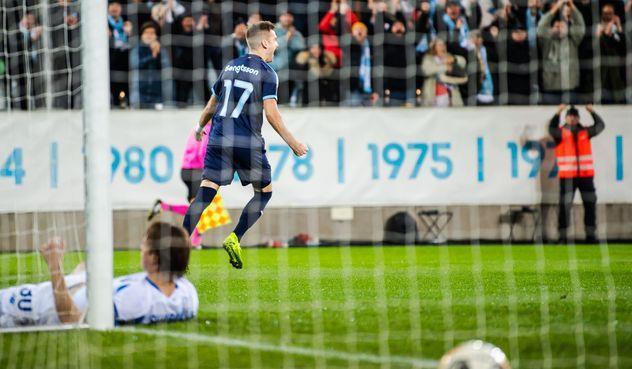 Динамо уступило Мальме и опустилось на третье место