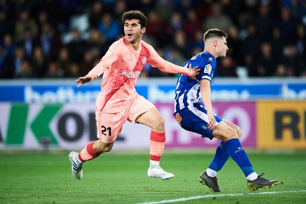 Барселона бетис 4. 2 повтор онлайн матча