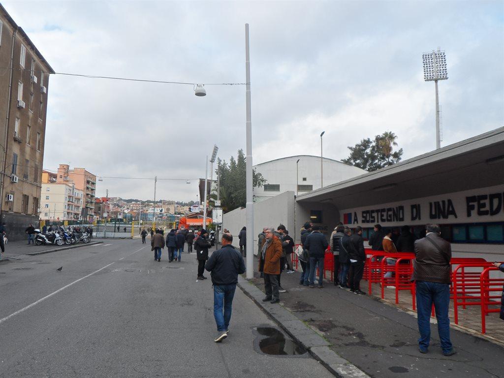 Репортаж из Катании: Серия С, Кристиано Лукарелли и угроза исчезновения