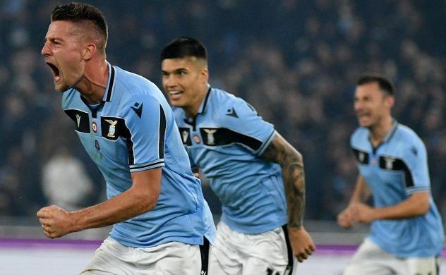 Лацио сумел обогнать Интер в таблице за счет победы в очном поединке