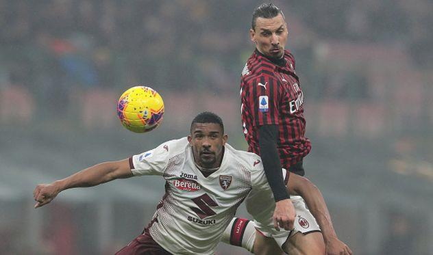Милан минимально обыграл Торино