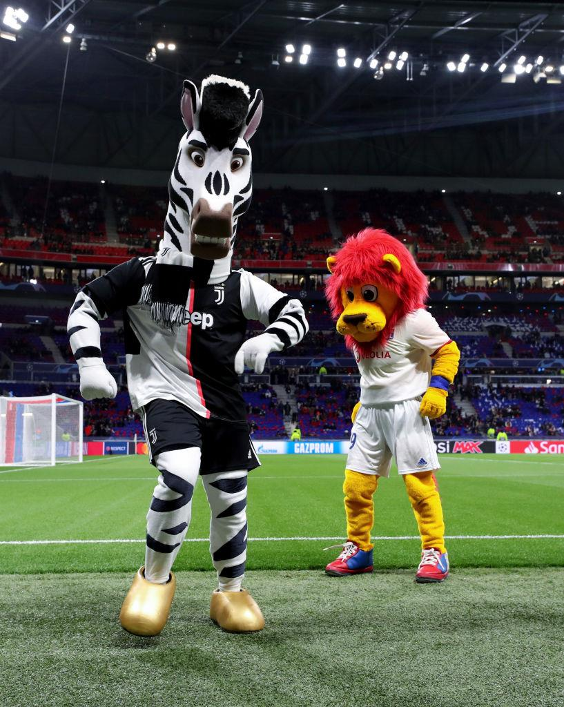 В этом матче маскот-тусовки не будет, Getty Images