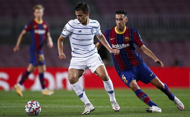 """""""Barselona"""" oddiy bo'lmagan o'yinda """"Dinamo""""dan ustun keldi"""