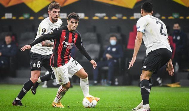 Хет-трик Языджи принес Лиллю разгромную победу над Миланом