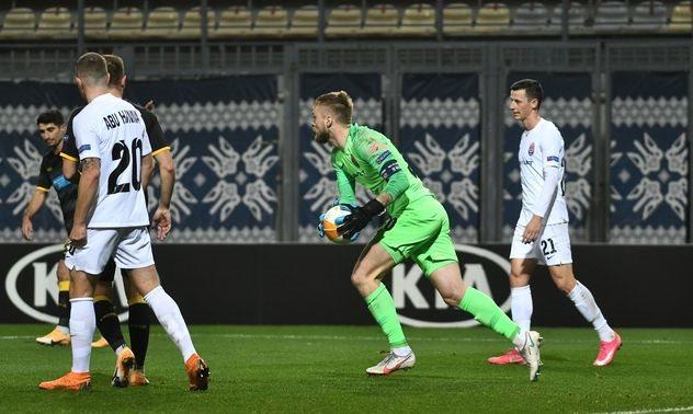 Заря уступила АЕКу и практически лишилась шансов на плей-офф Лиги Европы