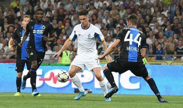 Брюгге — хороший жребий для Динамо, но фаворитом будут бельгийцы