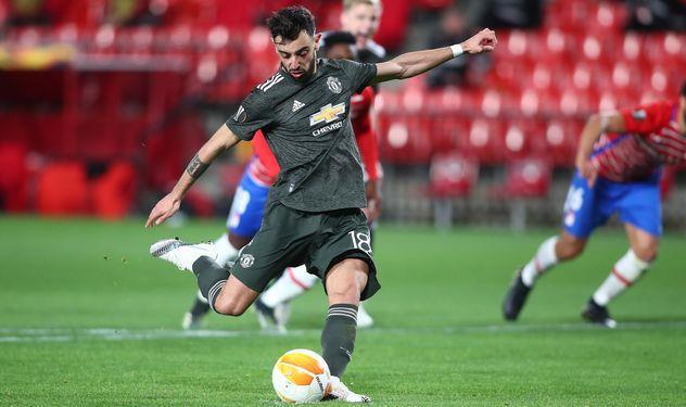 Манчестер Юнайтед оформил внушительный задел в первой игре против Гранады