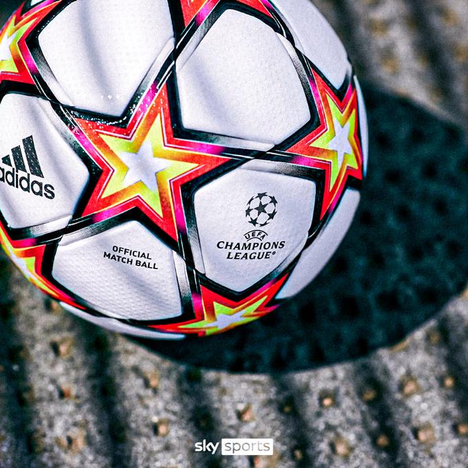 УЕФА представил официальный мяч Лиги чемпионов-2021/22