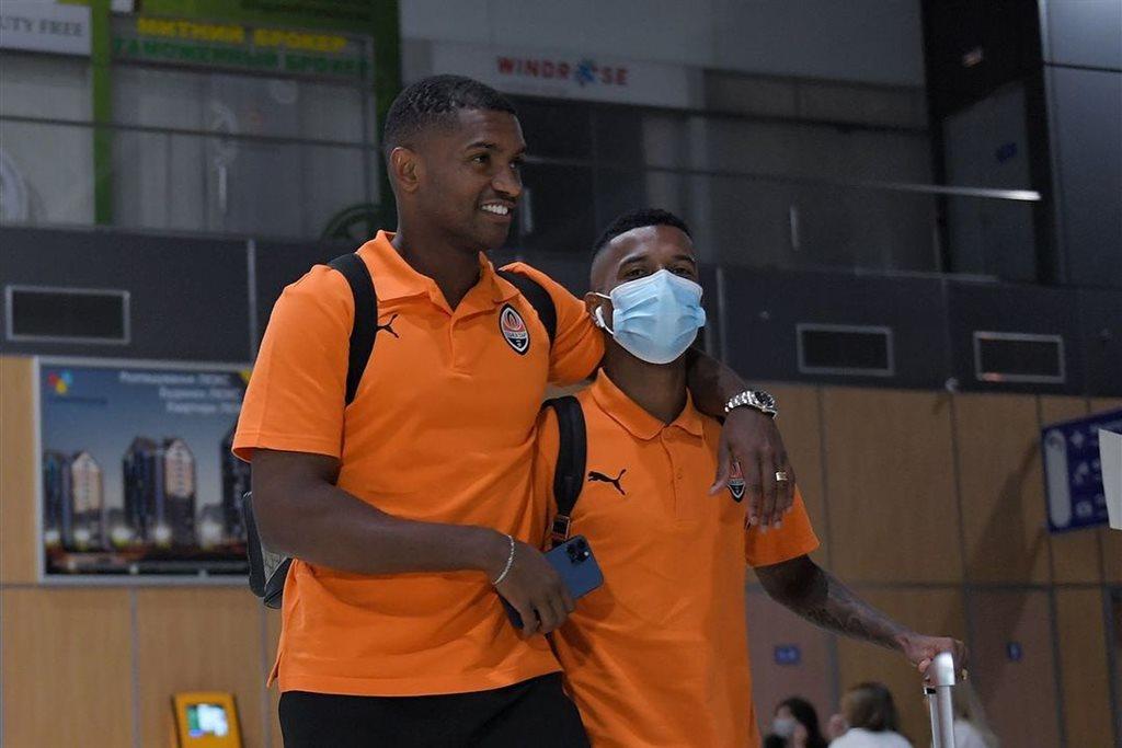 Шахтер прибыл в Харьков на матч с Монако