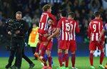 Самые яркие моменты матча Лестер - Атлетико (1:1)