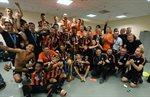 Как Шахтер радовался победе в Кубке Украины