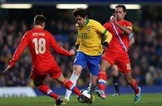 Бразилия 1:1 Россия