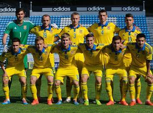 Украина (U-21) 1:1 Словения (U-21)