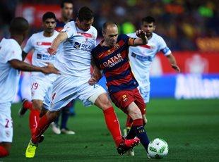 Барселона 2:0Севилья