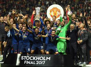 Праздник в Стокгольме: Как МЮ радовался кубку Лиги Европы