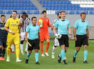 Олимпик - ПАОК 1:1 Фото с матча
