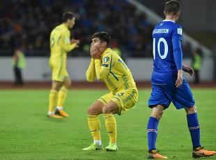 Осечка сборной Украины в Исландии