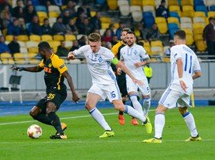 Динамо не смогло взять реванш в Киеве у Янг Бойз