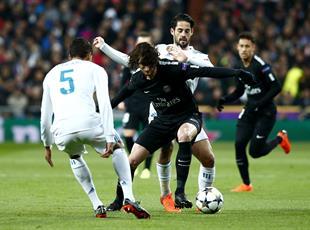 Реал - ПСЖ (3:1) Фото матча