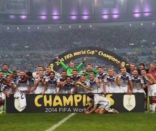 Германия 1:0 Аргентина