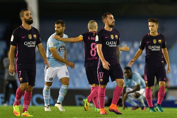 Сельта - Барселона 4:3