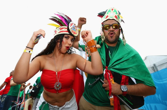 Бразилия 0:0 Мексика