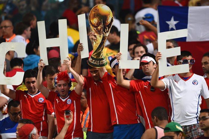 Испания 0:2 Чили