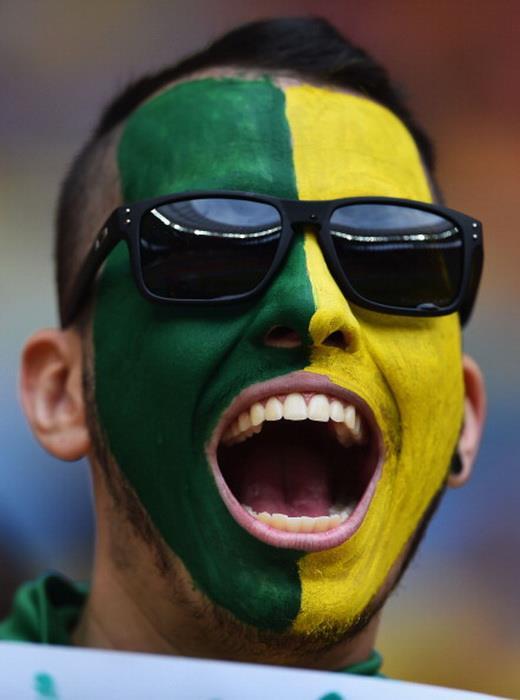 Камерун 1:4 Бразилия