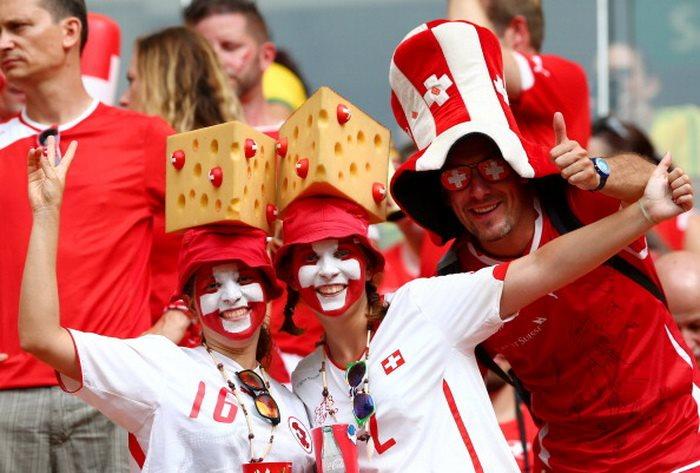 Гондурас 0:3 Швейцария