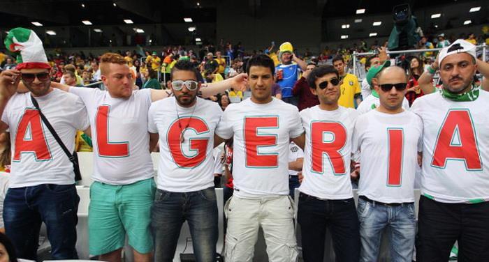 Алжир 1:1 Россия