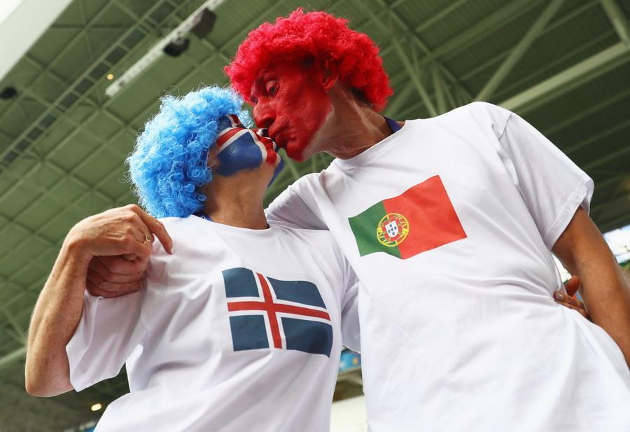 Португалия 1:1 Исландия