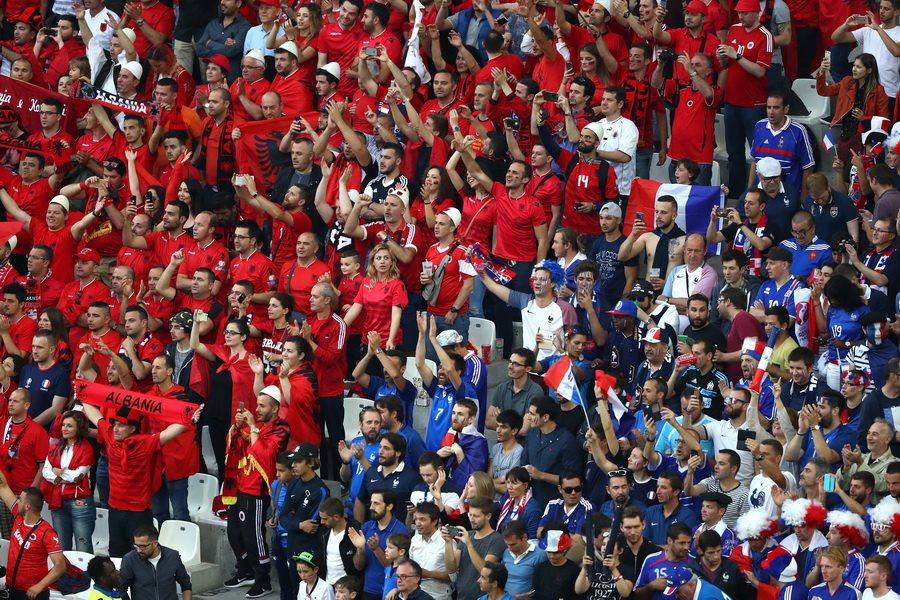 Франция 2:0 Албания