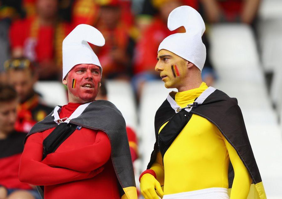 Бельгия 3:0 Ирландия