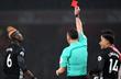 Поль Погба получил прямую красную карточку, Getty Images