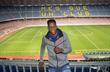 Йерри Мина на Камп Ноу, фото ФК Барселона
