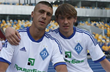 Евгений Хачериди и Денис Гармаш, фото: ФК Динамо