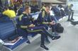 Сборная Украины в аэропорту Харькова перед отлетом в Испанию, фото ФФУ