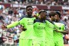 Ливерпуль разгромил Вест Хэм на выезде