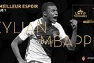 Мбаппе – лучший молодой игрок года в Лиге 1
