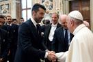 Папа римский благословил Ювентус и Лацио