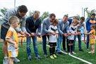ФФУ и КГГА подарили Киеву две футбольные площадки