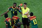 Колумбийский арбитр удалил не того игрока после просмотра видеоповтора